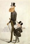 John Poyntz Spencer, 5th Earl Spencer; George Frederick Samuel Robinson, 1st Marquess of Ripon and 3rd Earl de Grey, by Sir Leslie Ward, 1892 - NPG  - © National Portrait Gallery, London
