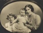 Queen Elizabeth II; Princess Margaret; Queen Elizabeth, the Queen Mother, by Marcus Adams, 22 June 1931 - NPG  - © estate of Marcus Adams / Camera Press
