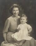 Queen Elizabeth II; Prince Charles, by Marcus Adams, 26 October 1949 - NPG  - © estate of Marcus Adams / Camera Press
