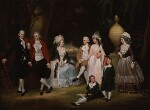 The Fourdrinier Family, attributed to John Downman, circa 1786 - NPG  - © National Portrait Gallery, London