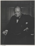 Winston Churchill, by Yousuf Karsh, 1941 - NPG  - © Karsh / Camera Press