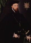 John Lumley, 1st Baron Lumley, by Unknown Anglo-Netherlandish artist, 1570s - NPG  - © National Portrait Gallery, London