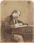 Charles Dickens, by (George) Herbert Watkins, 1858 - NPG  - © National Portrait Gallery, London