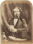 Charles Dickens, by (George) Herbert Watkins, 29 April 1858 - NPG  - © National Portrait Gallery, London