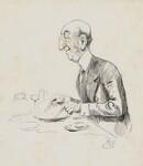 John Dixon, by Harry Furniss,  - NPG  - © National Portrait Gallery, London