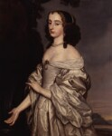Probably Mary, Princess of Orange, studio of Gerrit van Honthorst, 1650s - NPG  - © National Portrait Gallery, London