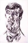 Stephen Fry, by Maggi Hambling, 1993 - NPG  - © National Portrait Gallery, London