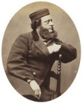 Oliver François Xavier Sarony, by Oliver François Xavier Sarony, late 1850s - NPG  - © National Portrait Gallery, London