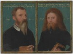 Gerlach Flicke; Henry Strangwish (Strangways), by Gerlach Flicke, 1554 - NPG  - © National Portrait Gallery, London