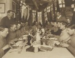 Captain Scott's Birthday Dinner, 6 June 1911, by Herbert George Ponting, 6 June 1911 - NPG  - © National Portrait Gallery, London