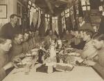 Captain Scott's Birthday Dinner, 6 June 1911, by Herbert George Ponting, 6 June 1911 - NPG  - © National Portrait Gallery, London