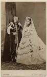 King Edward VII; Queen Alexandra, by John Jabez Edwin Mayall, 18 March 1863 - NPG  - © National Portrait Gallery, London