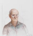 Sir Arthur Charles Clarke, by Adrian George, 1995 - NPG  - © Adrian George / National Portrait Gallery, London