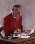 Trevor Huddleston, by Nancy Culliford Sharp, 1973 - NPG  - © estate of Nancy Sharp / National Portrait Gallery, London