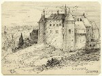 Chateau Dieppe, by George Estall, late 19th century - NPG  - © National Portrait Gallery, London