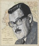 Alan Donald Whicker, by Barry Ernest Fantoni, 1975 - NPG  - © National Portrait Gallery, London