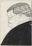 Douglas McGarel Hogg, 1st Viscount Hailsham, by Powys Evans, 1923 - NPG  - © estate of Powys Evans