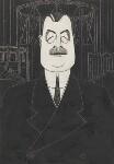 Arthur Henderson, by Powys Evans, 1924 - NPG  - © estate of Powys Evans