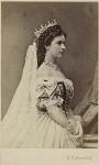 Elisabeth, Empress of Austria, by Emil Rabending, 1867 - NPG  - © National Portrait Gallery, London