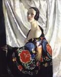 Doris Zinkeisen, by Doris Clare Zinkeisen, exhibited 1929 - NPG  - © estate of Doris Clare Zinkeisen