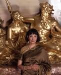 Madhur Jaffrey, by Barry Marsden, 6 October 1998 - NPG  - © National Portrait Gallery, London