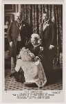 Four Generations (King Edward VII; Prince Edward, Duke of Windsor (King Edward VIII); Queen Victoria; King George V), by Percy Lewis Pocock, for  W. & D. Downey, 16 July 1894 - NPG  - © National Portrait Gallery, London