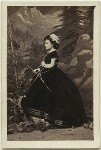 Marie Caroline Miolan-Carvalho, by Camille Silvy, 4 May 1862 - NPG  - © National Portrait Gallery, London
