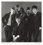The Animals (John Steel; Chas Chandler; Eric Victor Burdon; Dave Rowberry; Hilton Stewart Paterson Valentine), by David Wedgbury, 1966 - NPG  - © National Portrait Gallery, London
