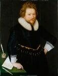 John Fletcher, by Unknown artist, circa 1620 - NPG  - © National Portrait Gallery, London