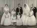 The wedding of David Hicks and Lady Pamela Mountbatten, by Madame Yevonde, 13 January 1960 - NPG  - © Yevonde Portrait Archive