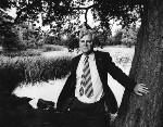 Richard Adams, by Mark Gerson, July 1974 - NPG  - © Mark Gerson / National Portrait Gallery, London