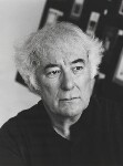 Seamus Heaney, by Mark Gerson, June 1996 - NPG  - © Mark Gerson / National Portrait Gallery, London