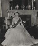Queen Elizabeth II, by Baron (Sterling Henry Nahum), for  Camera Press: London: UK, 1953 - NPG  - © Baron/Camera Press