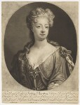 Sophia Dorothea, Queen of Prussia, by and published by John Smith, after  Johann Leonhard Hirschmann, 1706 - NPG  - © National Portrait Gallery, London