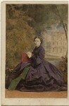 Victoria, Empress of Germany and Queen of Prussia, by Camille Silvy, 2 July 1861 - NPG  - © National Portrait Gallery, London