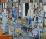 Historians of 'Past and Present', by Stephen Frederick Godfrey Farthing, 1999 - NPG  - © National Portrait Gallery, London