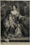 Catherine of Braganza, by John Smith, published by  Edward Cooper, after  Willem Wissing, 1684 - NPG  - © National Portrait Gallery, London