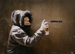 Banksy, by James Pfaff, 2003 - NPG  - © James Pfaff