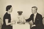 Wallis, Duchess of Windsor; Prince Edward, Duke of Windsor (King Edward VIII), by Dorothy Wilding, 6 April 1955 - NPG  - © National Portrait Gallery, London