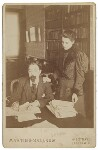 Sidney James Webb, Baron Passfield; Beatrice Webb, by Martin & Sallnow, mid 1890s - NPG  - © National Portrait Gallery, London