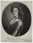 Charles Seymour, 6th Duke of Somerset, by John Smith, published by  Edward Cooper, after  Jan van der Vaart, 1688 - NPG  - © National Portrait Gallery, London