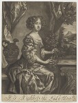 Queen Anne when Princess, published by Richard Tompson, after  Sir Peter Lely, 1678-1679 (circa 1678) - NPG  - © National Portrait Gallery, London