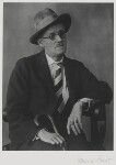 James Joyce, by Berenice Abbott, 1928 - NPG  - © Berenice Abbott / Commerce Graphics Ltd, Inc.