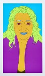 Dame Zaha Hadid, by Michael Craig-Martin, 2008 - NPG  - © National Portrait Gallery, London