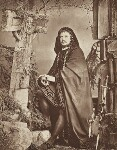 Charles Albert Fechter as Hamlet in 'Hamlet', by Unknown photographer, September 1879 - NPG  - © National Portrait Gallery, London