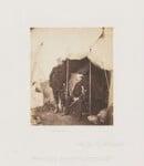 Captain Hume; Sir John Campbell Bt, by Roger Fenton, 1855 - NPG  - © National Portrait Gallery, London