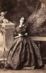 Adelina Patti, by Camille Silvy, July 1861 - NPG  - © National Portrait Gallery, London