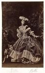 Adelina Patti as Martha in 'Martha', by Camille Silvy, July 1861 - NPG  - © National Portrait Gallery, London