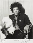 Jimi Hendrix, by Ian Wright, 2 February 1967 - NPG  - © Ian Wright / National Portrait Gallery, London
