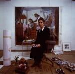 Paula Rego, by Chris Garnham, February 1988 - NPG  - © estate of Chris Garnham / National Portrait Gallery, London